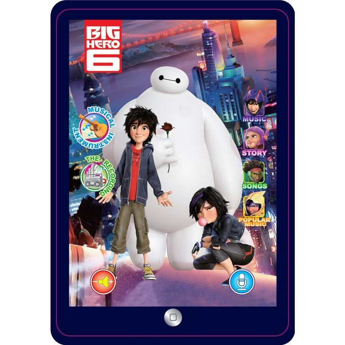 Universal Kids Learning Educational YPad (Big Hero 6 Kid)